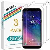 MOOKLIN Samsung Galaxy A6 Plus 2018 Panzerglas Bildschirmschutzfolie,[3 Stück] [Easy Install Kit] [Anti-Kratzen] Vollständige Abdeckung Handy Schutzfolie für Samsung Galaxy A6 Plus 2018