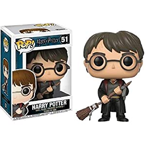 Figura Pop Harry Potter Harry with Firebolt & Feather Exclusive 10