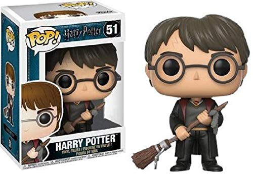 Figura Pop Harry Potter Harry with Firebolt & Feather Exclusive 1