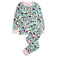 Hatley Long Sleeve Organic Cotton Pyjama Set - Forest Sprites