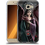 Official Anne Stokes Soul Mates Dragon Friendship Soft Gel Case for Samsung Galaxy A5 (2017)