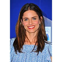 Amanda Peet In Attendance For Crest 3D White 2-Hour Express Whitestrips And Advanced Vivid Enamel Renewal Toothpaste Launch Photo Print (40,64 x 50,80 cm)