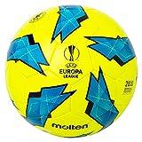 MOLTEN Replica de la UEFA Europa League-2810 - Balón de fútbol Oficial, Color Azul, tamaño...