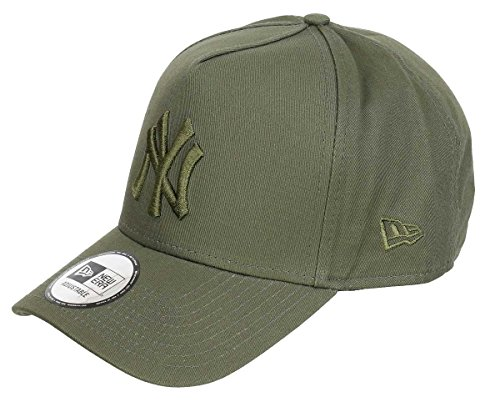 Trucker Olive (New Era League Essential Adjustable NY Yankees Olive, Size:ONE Size)