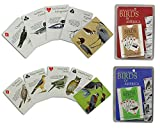 ACE Card Poker Vogel Gedruckt Standard Größe 2 Decks of Spielkarten Index