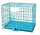 #10: W9 Cage Metal Cage With Plastic Removable Tray For Rabbit/Cat/ Guinea Pig/Puppy (24Inch)
