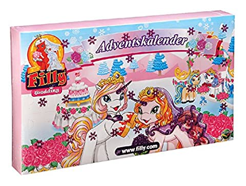 Dracco M760009 - Adventskalender Filly Wedding, bunt