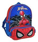 Lora Dora, Zainetto per bambini, Spiderman (Blu) - MNCK7964