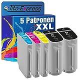 5 Druckerpatronen XXL mit Chip und Füllstandsanzeige kompatibel zu HP 940 XL