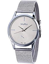 TOOGOO Relojes de Mujer de Moda Reloj de Cuarzo de Lujo para Mujer Relojes de Acero