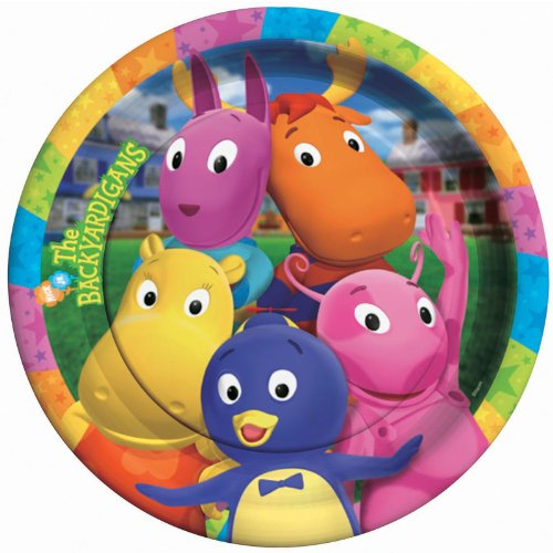 Backyardigan Kostüm - Backyardigans Dinner Plates