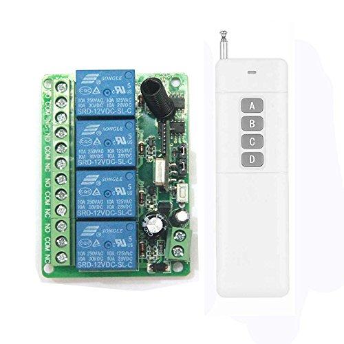 Lejin Interruptor de control remoto por radio 500m de largo alcance universal...