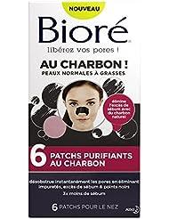BIORÉ Set de 6 Patchs Purifiants au Charbon - Lot de 2