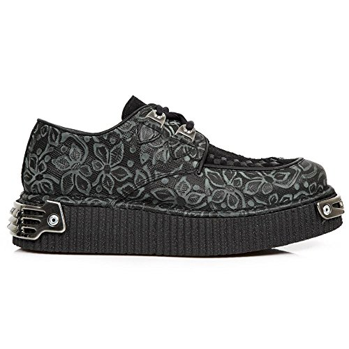New Rock Neo Creeper Noir Chaussures M.CRP001-S1