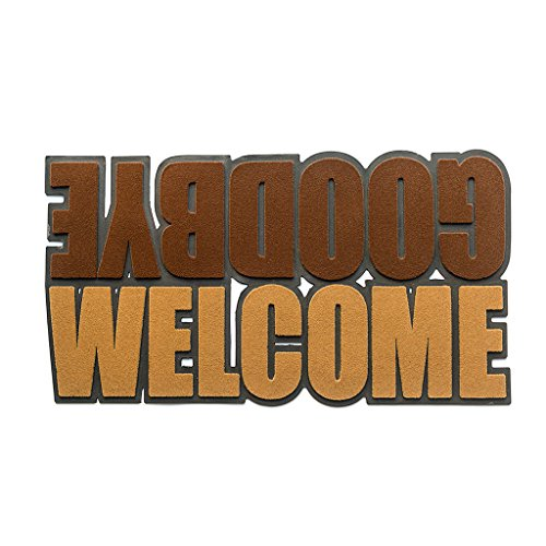 Felpudos divertidos Welcome&Goodbyefelpudode41x75cm