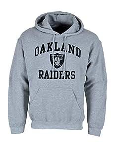 Wholesale Majestic NFL Hoodie Sweatshirt, Oakland Raiders, grau: Amazon.co.uk  hot sale