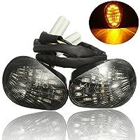 1 par de luces intermitentes Ungfu Mall, LED, montaje empotrado para motocicleta Yamaha