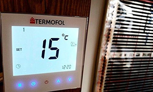Angebot Thermostat (Thermostat Fußbodenheizung Film 2Sensoren 5–35°C Digitale Steuerung)