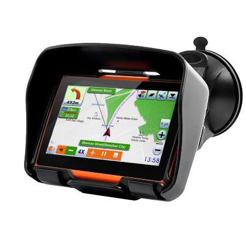 Koolertron Motorrad Navigation wasserdicht GPS Navigationsgeräte 4,3
