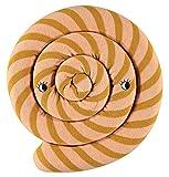 OyOy Mini Lollipop Cushion Caramel - Süßes Rosa Hellbraun Getsreiftes Baby Kinder Kissen Kuschelkissen und Schmusekissen - Baumwolle Durchmesser 30 cm