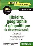 Histoire Géographie et Géopolitique du Monde Contemporain 1re Année ECS