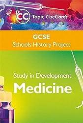 GCSE SHP Study in Development - Medicine Topic Cue Cards
