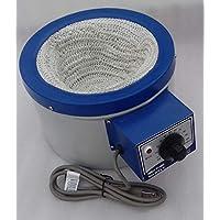 Manta calefactora de 220 v 5000 ml / 5 litros para matraz de fondo redondo 600 vatios Tamaño total 36.57 cms x 19.55 cms x 27.94 cms y manguito interior Tamaño 23.36 cms
