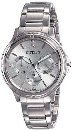 Citizen Analog Silver Dial Women's Watch - FD2030-51H