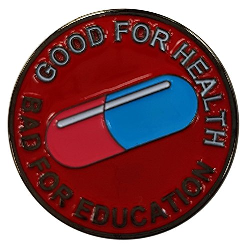 Die Cast Pin Akira Good For Health Bad -