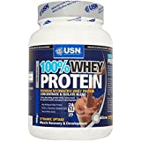 USN 100% Whey Protein - Chocolate (908g) - Pack of 6