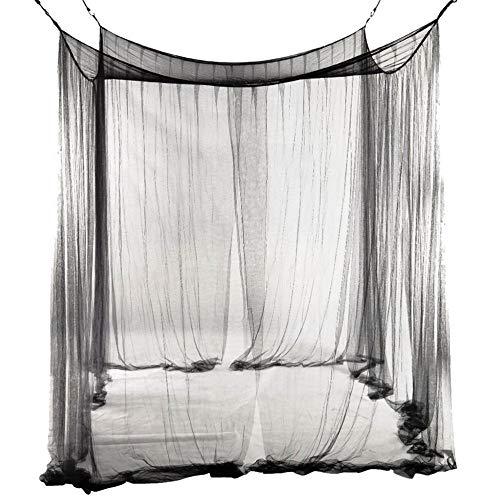 Prinzessin Poster-himmelbett (Y·z Y · ZDekorative Praktische Europäische Stil Premium 4 Ecke Post Moskitonetz Betthimmel Bed Netting Schlafzimmer Dekor)