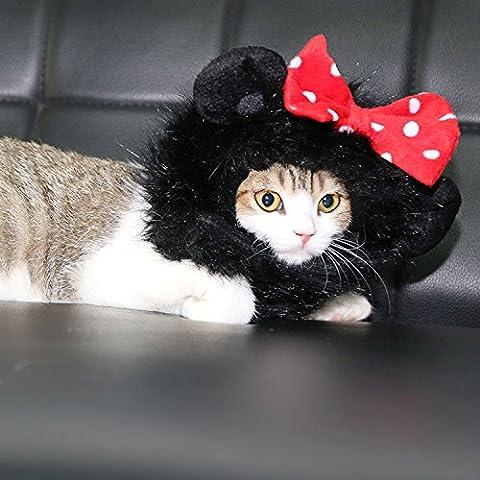Thinkpet Criniere Perruque de Lion Mignon Pour Chat Halloween Costume de Déguisement