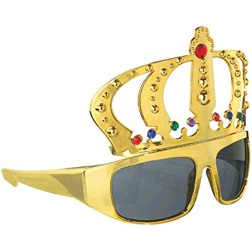 AMSCAN EUROPE SpaßBrille King gold 0013051589165