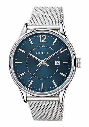 Breil orologio analogico quarzo uomo con cinturino in acciaio inox tw1560
