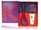 Kenzo Amour woman 3 Teile Set 100ml Eau de Parfum Spray + 50ml Creamy Body Milk + Kleine Geldtasche