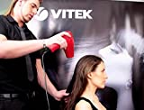 VITEK 2200W VT-2329 R-1 Hair Dryer with Hot & Cold Air with Concentrator Nozzle & 6 Speed Control (Red & Black)