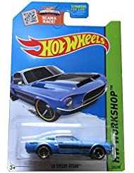 Hot Wheels 2015 HW Workshop, '68 Shelby GT500 [Blue] Die-Cast Vehicle #226/250 by Hot Wheels