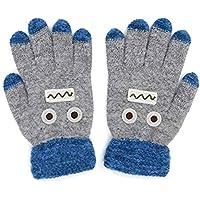 Kids Winter Glove Children Knit Mittens Gloves Boys Warm Magic Finger Gloves Full Finger Cartoon