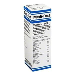 MEDI-TEST Combi 10 L Teststreifen 50 St