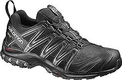 Salomon Herren Trail Running Schuhe, XA PRO 3D GTX, Farbe: schwarz (Black/Black/Magnet) Größe: EU 47 1/3