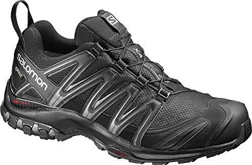 Salomon XA Pro 3D GTX, Zapatillas de Trail Running para Hombre, Negro (Black/Black/Magnet), 43 1/3 EU