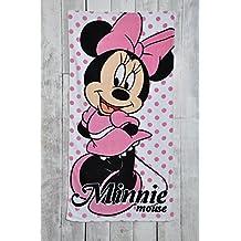 Character World oficial de Disney Minnie Mouse niña playa/toalla de baño de 70cm x 140cm