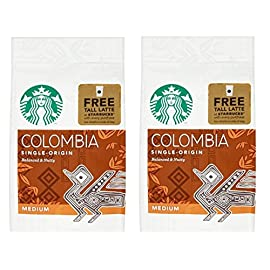 Starbucks Columbian Ground Coffee 200 g