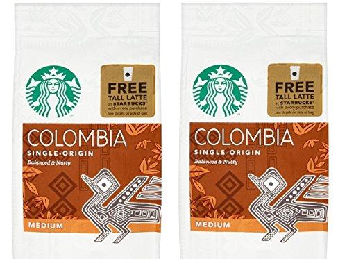 -[ Starbucks Columbian Ground Coffee 200 g (Pack of 6)  ]-