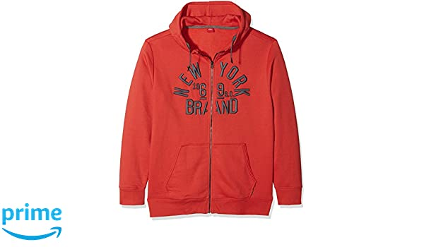 s.Oliver Big Size Men s 15712437479 Cardigan, Red (Grenadine 3040), XX-Large   Amazon.co.uk  Clothing 403f461fb7