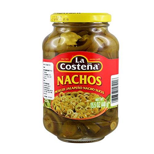La Costena - Nachos Jalapeno geschnitten - 440g/385g