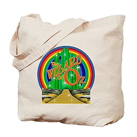 CafePress - The Wizard Of Oz - Natural Canvas Tote Bag, Cloth Shopping Bag