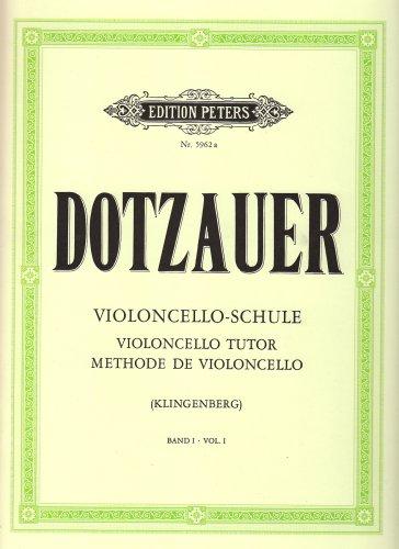 Violoncelloschule 1 Violoncelle par Friedrich Dotzauer