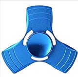 #3: High Quality Blue Metal Fidget Spinner