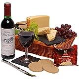 Wine & Cheese Hamper - Hampers and Gift Baskets - Cheese & Wine Gift Hamper